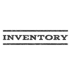 Inventory watermark stamp vector