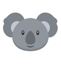 Koala icon isolated vector