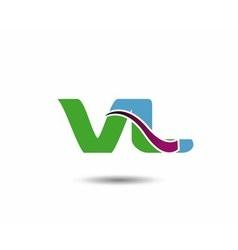 VL logo vector image