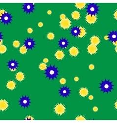 Summer green background vector image