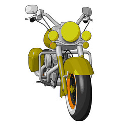 A motorcycle or color vector