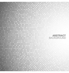 Abstract Circular Light Gray Background vector image