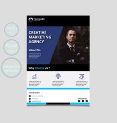 Business-flyer-template vector