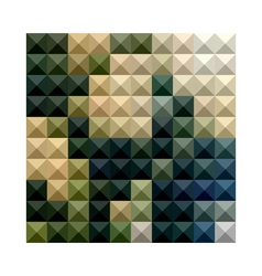 Castleton Green Abstract Low Polygon Background vector