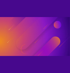 creative geometric wallpaper for your website hero vector image