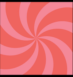 red and pink twirl background with scratch vector image