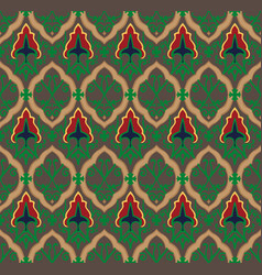 royal pattern seamless background vector image