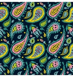 Seamless pattern like a Paisley design vector