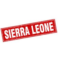 sierra leone vector image