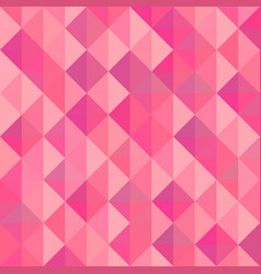 triangle pattern on seamless pink vector image