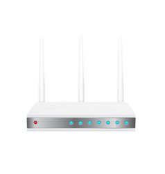 Wifi router vector