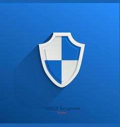 Guardian shield vector image