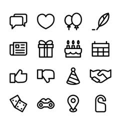 Crisp social icons vector