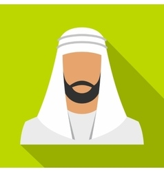 Muslim icon flat style vector image