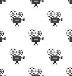 video seamless pattern vector image vector image