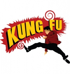 kung Fu forever vector image