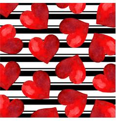 black stripe valentine background vector image