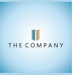 Building logo o ideas design vector
