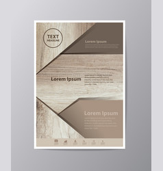 Business brochure flyer design layout template in vector