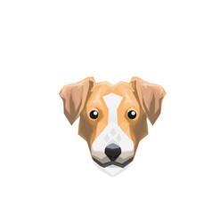 Dog ilustration vector