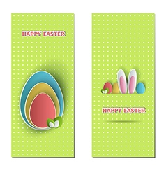 Easter backdrops vector