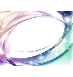 Magic abstract multicolored background vector
