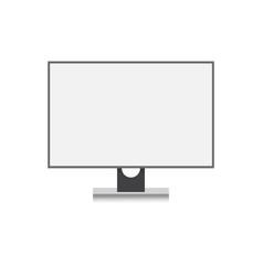 modern display computer screen or monitor icon vector image