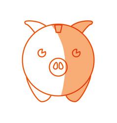 piggy savings money vector image