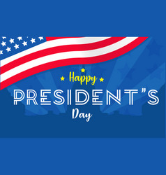Presidents day vector