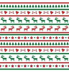 Seamless Christmas background22 vector image