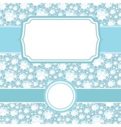 set frames on shiny diamonds seamless pattern vector image