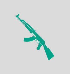 russian weapon rifle icon vector image