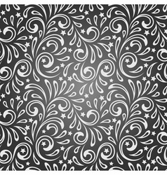Seamless Pattern vintage style vector image