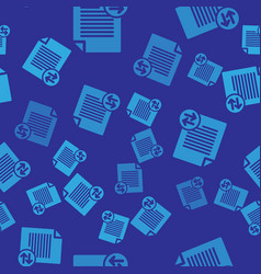 Blue transfer files icon isolated seamless vector