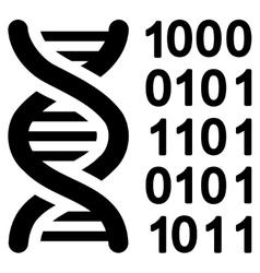 Genetical Code Icon vector image