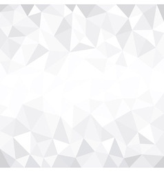 Grey modern low poly background vector image