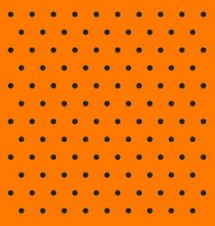 Halloween pattern polka dots vector