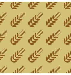 Seamless pattern with cereals2 vector image