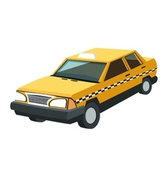single taxi icon vector image