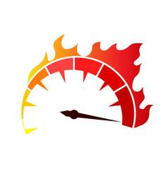 Speed icon stock design vector