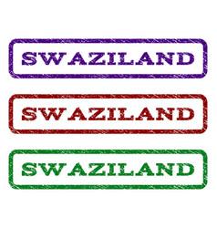 Swaziland watermark stamp vector