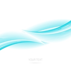 Abstract background wave vector image vector image