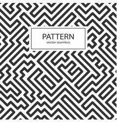 striped seamless geometric pattern vector image vector image
