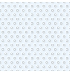 Abstract 3d white geometric background vector image