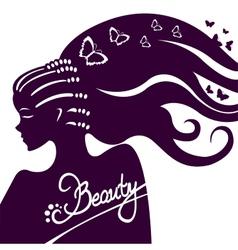 Beauty vector image