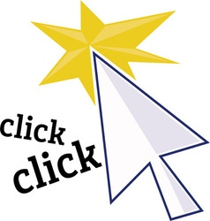 Click Click vector image