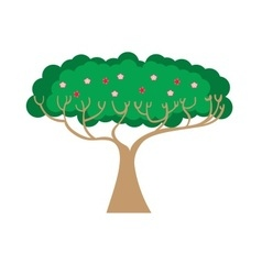 Decorative tree design vector