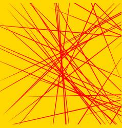 Dynamic irregular lines placed randomly geometric vector