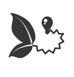 ecological energy alternatives icon vector image