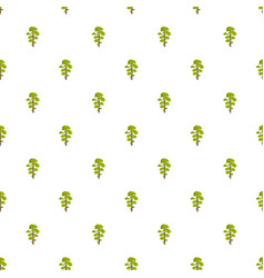 Elm tree pattern seamless vector